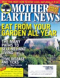 Mother Earth News August/September 2015
