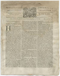 """Franklin Proclaims, """"Britain has no Right to tax the Colonies…"""""""