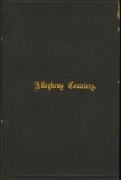 Pittsburgh: Bakewell & Marthens, 1873. First edition. Albee, S.V.. 8vo., vii, 166 pp., with 16 full-...