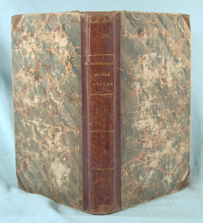 1834. (Mitchell and Hinman). ACCOMPANIMENT TO MITCHELL'S REFERENCE AND DISTANCE MAP OF THE UNITED ST...