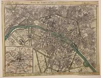 Plan de Paris et de ses Faubourgs