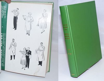 Cincinnati: the Union, 1961. 331, 277p; two paperback reports bound together in green buckram boards...
