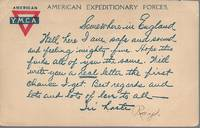 """image of American Expeditionary Forces (AEF) YMCA-WWI """"Soldiers' Mail"""" Postcard -Circa 1917"""