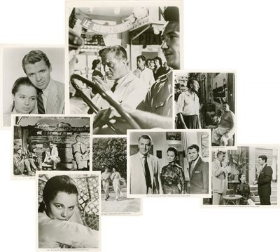 Beverly Hills, CA: United Artists, 1957. Set of 8 vintage black and white still photographs from the...