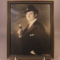 Autographed photograph of Giuseppe De Luca
