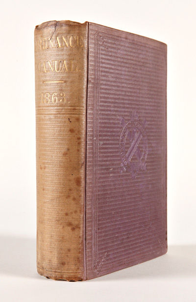 Charleston, S.C.: Evans & Cogswell, 1863. 546pp. plus thirty-three plates. Publishers' patterned pur...