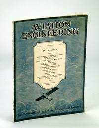 Aviation Engineering (Magazine) - The Technical Journal of the Aeronautical Industry, December (Dec.) 1929 - Aircraft Radio / Economics of Airplane Sales