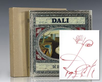 France: Draeger, 1968. First edition of this lavishly illustrated work by Salvador Dali. Quarto, ori...