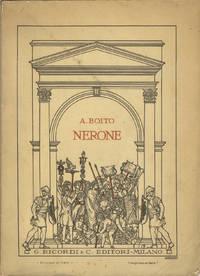 Nerone [Libretto] tragedia in quattro atti prezzo Lire 5.- aumento compreso