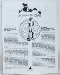 image of Critical Path AIDS Project: vol. 2, #7 & 8, October, 1991: The Speed of Light: AIDS information in the 1990s