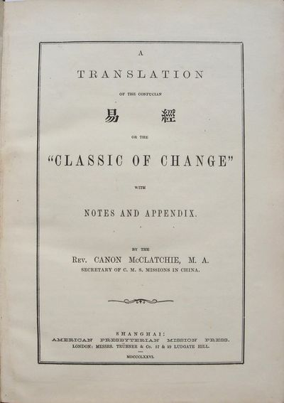 A Translation of the Confucian  [Yih...