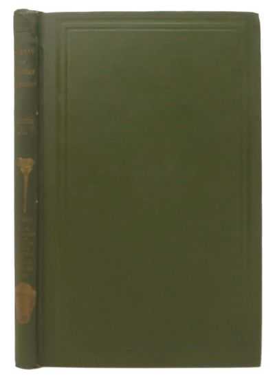 Washington: Government Printing Office, 1917. 1st edition. Publisher's original green cloth with gil...
