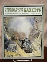 image of NARROW GAUGE AND SHORT LINE GAZETTE - MARCH/APRIL, 1987; VOLUME 13, NUMBER 1