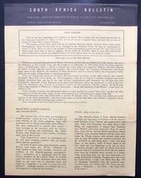 image of South Africa Bulletin. October 1964