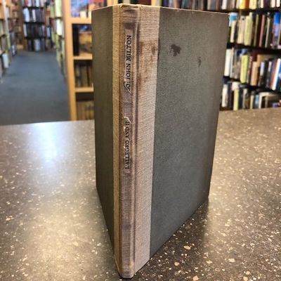 (New Rochelle): Elston Press, 1903. Limited edition, one of 160 copies. Small octavo; 28, (4) pp. Ha...