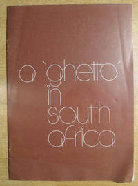 A 'Ghetto' in South Africa