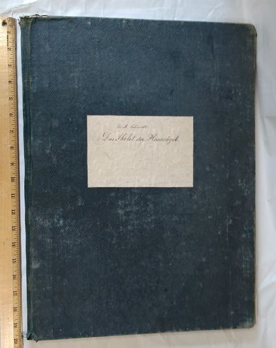 Frankfurt: J. D. Sauerlander's Verlag, 1867. First Edition Thus. Folio ; 17pp text; 15 lithographic ...