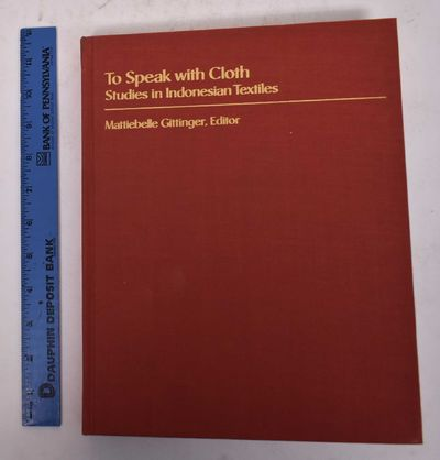 Los Angeles: Museum of Cultural History, 1989. Hardcover. VG. shelf-wear to cover edges. light tonin...