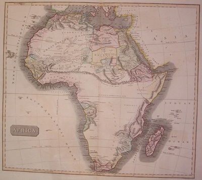 Edinburgh: Menzies, J. & G., 1817. unbound. very good. Map. Engraving with original hand coloring. I...