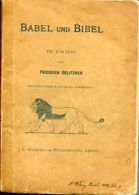 Babel und Bibel.