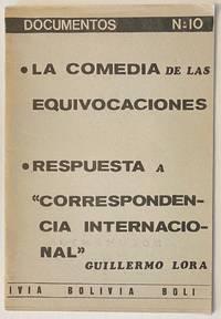 image of La Comedia de las Equivocaciones; Respuesta a