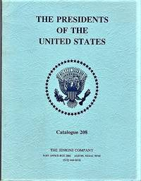 THE PRESIDENTS OF THE UNITED STATES:  Catalogue 208