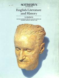 Sale 22/23 July 1985: English Literature and History, comprising printed  books, autograph letters and MSS.