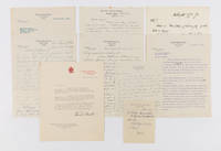 Collection of Nine Items Relating to Brandeis, Civil Rights and..
