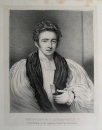 The Rt. Rev. M. S. Alexander D. D., Lord Bishop of the Anglican Church in Jerusalem.  Portrait of the first bishop of oldest Protestant church in the Middle East