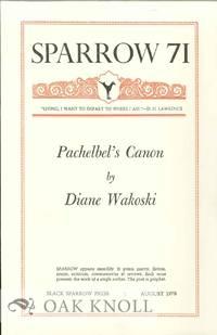 PACHEBEL'S CANON. SPARROW 71