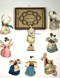 Taglioni A rare paper doll with costumes. A rarity of the Romantic Ball
