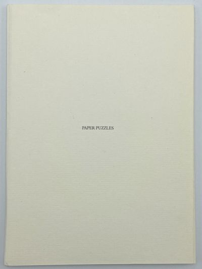 London, New York, San Francisco: Pentagram Design, 1986. A fine copy. 12mo. Original printed wrapper...