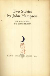 Two Stories by  John Hampson - Signed First Edition - 1931 - from The Typographeum Bookshop and Biblio.com