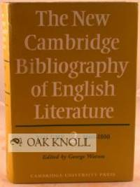 Cambridge: University Press, 1971. cloth, dust jacket. thick tall 8vo. cloth, dust jacket. xxii, 209...