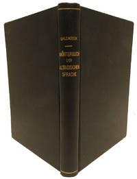 image of Kurzgefasstes Etymologisches Worterbuch der Altindischen Sprache