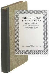 One Hundred Title Pages1500*1800