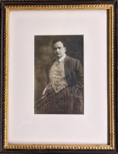 1911. fine. Signed photo postcard, 3 1/2