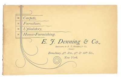 New York, (n. d.). 1st printing thus, ca 1889 (Romaine, p. 213, incorrectly identifying the firm as ...