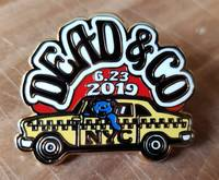 Dead and Company - 2019 - Tour Pin - Citi Field (New York City)