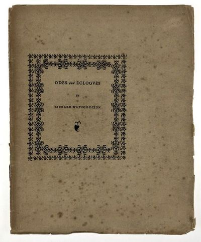 Oxford: Henry Daniel, 1884. First edition. First edition. Original printed wrappers with double cove...