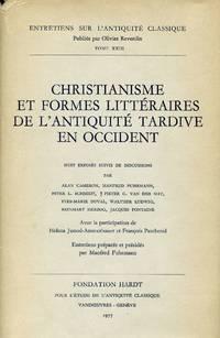 image of Christianisme et Formes Littéraires de L'Antiquité Tardive en Occident