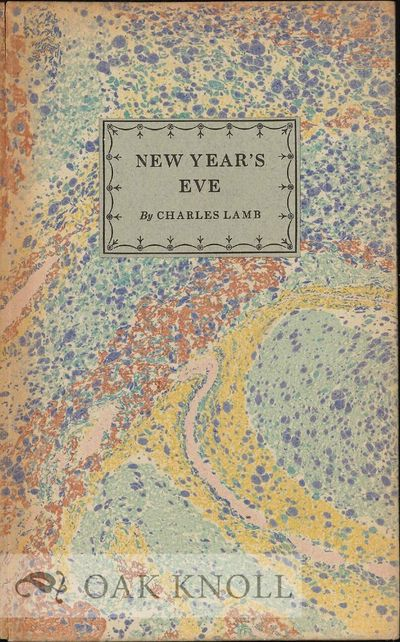 New York, NY: William Edwin Rudge, 1924. decorated cloth, paper front cover label. Rudge, William Ed...