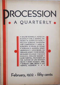 Procession A Quarterly Volume 1 Number 2