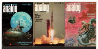 """""""In Our Hands, the Stars"""" in ANALOG Science Fiction / Science Fact - December 1969, January and February 1970, Volume LXXXIV, number 4, 5,  and 6.  (set of 3 issues.)"""