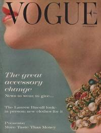 image of Vogue Magazine (incorporating Vanity Fair). November 15, 1959. Vol. 134.  No. 9.