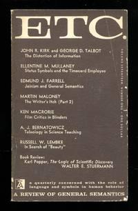 image of ETC. A Review of General Semantics
