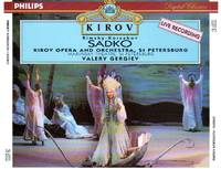 image of Sadko - Opera-Bylina in Seven Tableaux [3-COMPACT DISC SET]