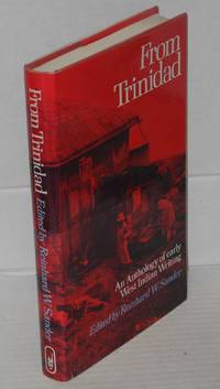 image of From Trinidad; an anthology of early West Indian writing