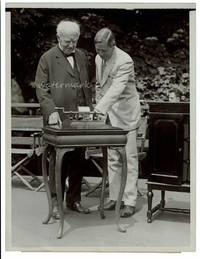 [ Photograph ] Edison Radios First Phonograph's Words!