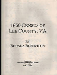 1850 Census of Lee County, Virginia